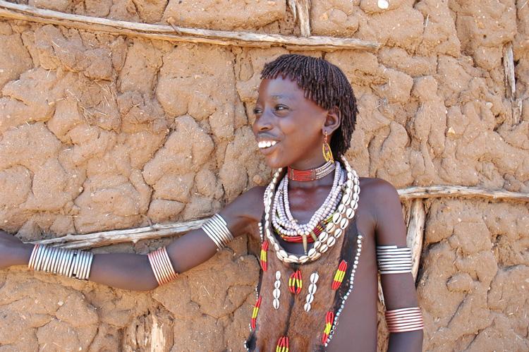 Hamar mädchen äthiopien